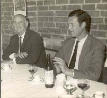 Lionel with Brian Johnson